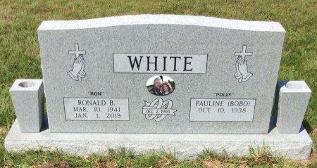 WHITE, RONALD B - Bowie County, Texas | RONALD B WHITE - Texas Gravestone Photos
