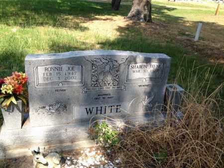 WHITE, RONNIE JOE - Bowie County, Texas | RONNIE JOE WHITE - Texas Gravestone Photos