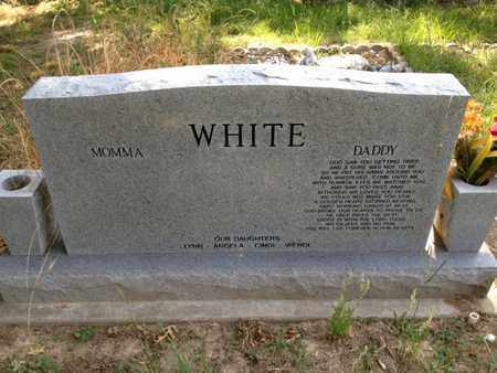 WHITE, RONNIE JOE (BACKVIEW) - Bowie County, Texas | RONNIE JOE (BACKVIEW) WHITE - Texas Gravestone Photos
