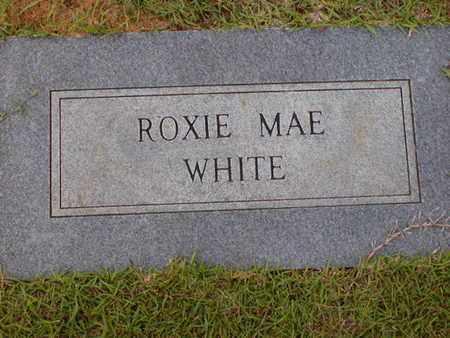 WHITE, ROXIE MAE - Bowie County, Texas | ROXIE MAE WHITE - Texas Gravestone Photos
