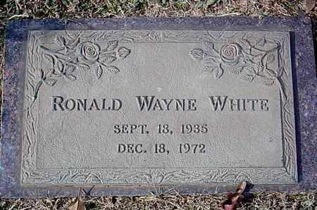 WHITE, RONALD WAYNE - Bowie County, Texas | RONALD WAYNE WHITE - Texas Gravestone Photos