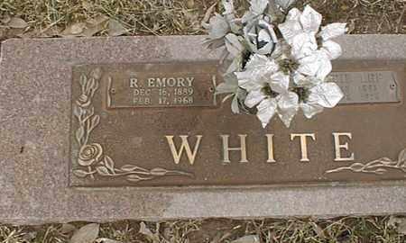 WHITE, R EMORY - Bowie County, Texas | R EMORY WHITE - Texas Gravestone Photos