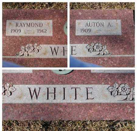 WHITE, RAYMOND - Bowie County, Texas | RAYMOND WHITE - Texas Gravestone Photos