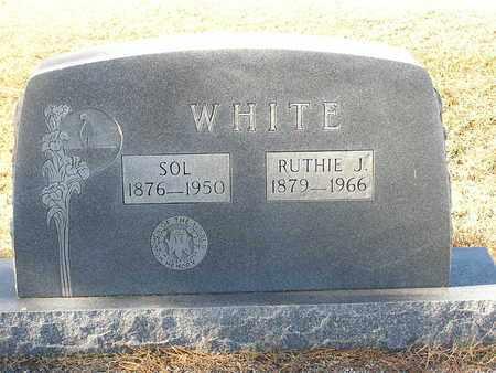 WHITE, RUTHIE J - Bowie County, Texas | RUTHIE J WHITE - Texas Gravestone Photos
