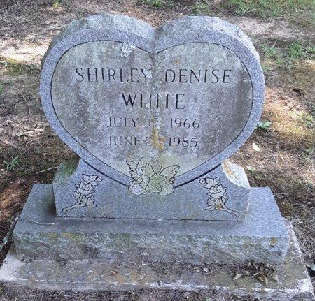 WHITE, SHIRLEY DENISE - Bowie County, Texas | SHIRLEY DENISE WHITE - Texas Gravestone Photos