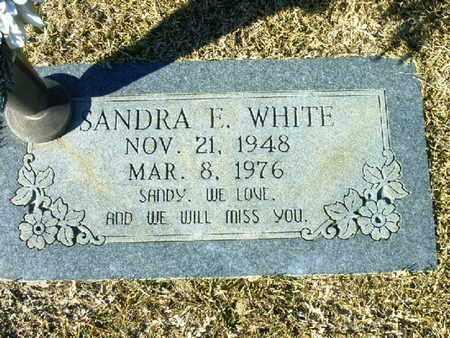 WHITE, SANDRA E - Bowie County, Texas | SANDRA E WHITE - Texas Gravestone Photos