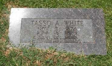 WHITE, TASSO A. - Bowie County, Texas | TASSO A. WHITE - Texas Gravestone Photos