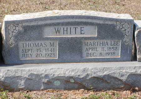 WHITE, MARTHIA LEE - Bowie County, Texas | MARTHIA LEE WHITE - Texas Gravestone Photos