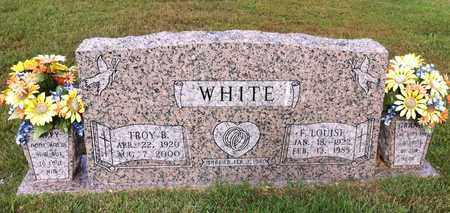 WHITE, F LOUISE - Bowie County, Texas | F LOUISE WHITE - Texas Gravestone Photos