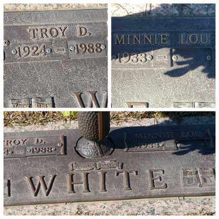 WHITE, MINNIE LOU - Bowie County, Texas | MINNIE LOU WHITE - Texas Gravestone Photos
