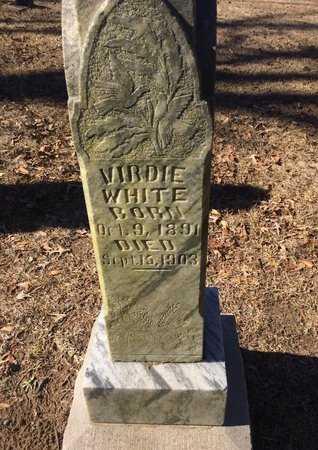 WHITE, VIRDIE - Bowie County, Texas | VIRDIE WHITE - Texas Gravestone Photos
