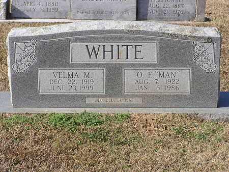 "WHITE, O E ""MAN"" - Bowie County, Texas | O E ""MAN"" WHITE - Texas Gravestone Photos"