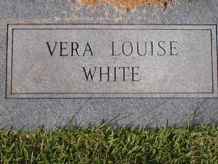 WHITE, VERA LOUISE - Bowie County, Texas | VERA LOUISE WHITE - Texas Gravestone Photos
