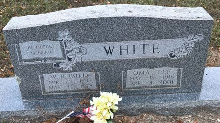 "WHITE, W B ""BILL"" - Bowie County, Texas 