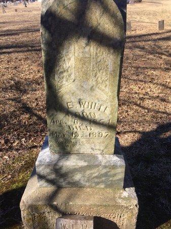 WHITE, W. E. - Bowie County, Texas   W. E. WHITE - Texas Gravestone Photos