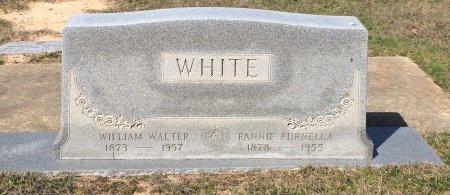 WHITE, FANNIE PURNELLA - Bowie County, Texas | FANNIE PURNELLA WHITE - Texas Gravestone Photos