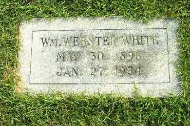 WHITE, WM WEBSTER - Bowie County, Texas | WM WEBSTER WHITE - Texas Gravestone Photos