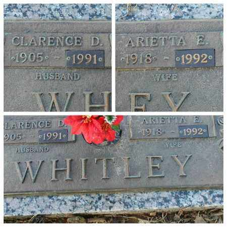WHITLEY, CLARENCE D - Bowie County, Texas | CLARENCE D WHITLEY - Texas Gravestone Photos