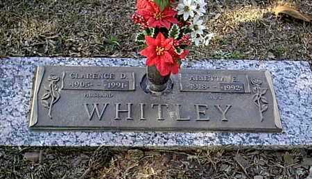 WHITLEY, ARIETTA E - Bowie County, Texas | ARIETTA E WHITLEY - Texas Gravestone Photos