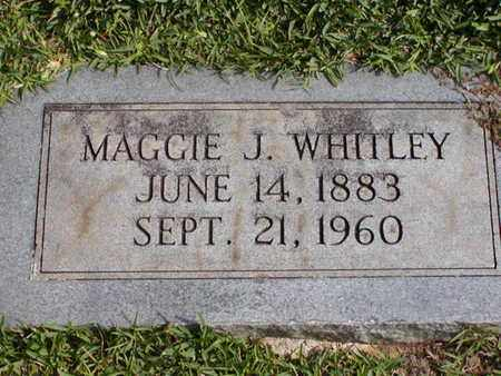 WHITLEY, MAGGIE J - Bowie County, Texas | MAGGIE J WHITLEY - Texas Gravestone Photos
