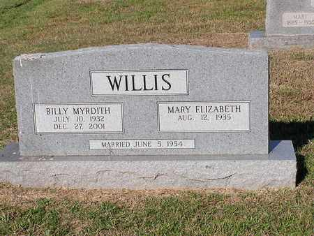 WILLIS, BILLY MYRDITH - Bowie County, Texas | BILLY MYRDITH WILLIS - Texas Gravestone Photos