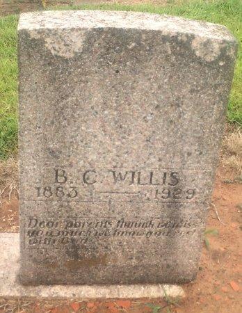 WILLIS, B C  - Bowie County, Texas | B C  WILLIS - Texas Gravestone Photos