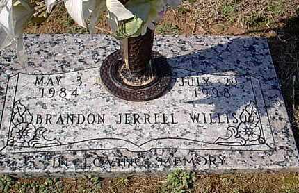 WILLIS, BRANDON JERRELL - Bowie County, Texas | BRANDON JERRELL WILLIS - Texas Gravestone Photos