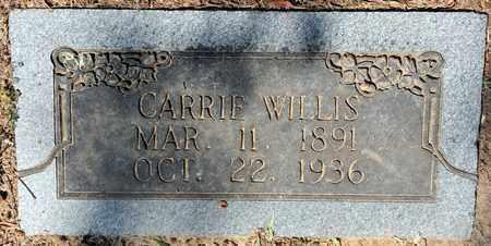 WILLIS, CARRIE - Bowie County, Texas | CARRIE WILLIS - Texas Gravestone Photos