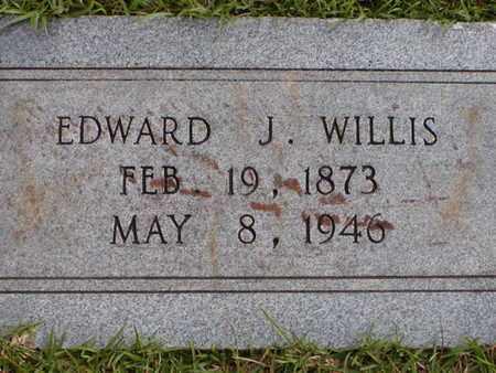 WILLIS, EDWARD J - Bowie County, Texas | EDWARD J WILLIS - Texas Gravestone Photos