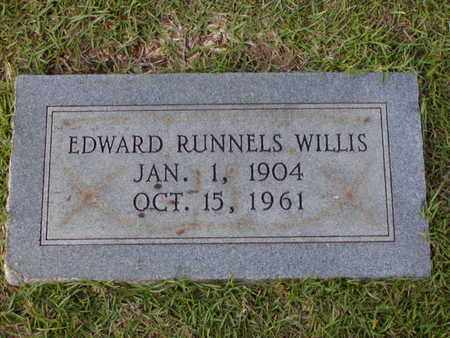 WILLIS, EDWARD RUNNELS - Bowie County, Texas | EDWARD RUNNELS WILLIS - Texas Gravestone Photos