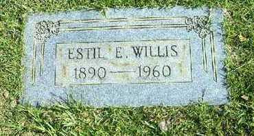 WILLIS, ESTIL E - Bowie County, Texas | ESTIL E WILLIS - Texas Gravestone Photos