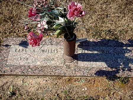 WILLIS, EARL A - Bowie County, Texas | EARL A WILLIS - Texas Gravestone Photos