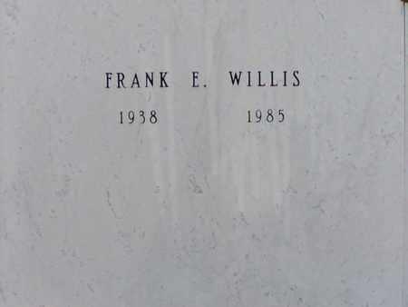 WILLIS, FRANK E - Bowie County, Texas | FRANK E WILLIS - Texas Gravestone Photos