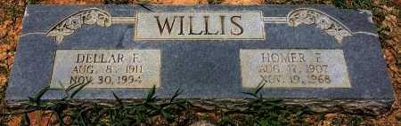 WILLIS, DELLAR F - Bowie County, Texas | DELLAR F WILLIS - Texas Gravestone Photos