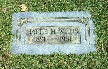 WILLIS, HATTIE M - Bowie County, Texas | HATTIE M WILLIS - Texas Gravestone Photos