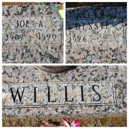WILLIS, JOE A - Bowie County, Texas | JOE A WILLIS - Texas Gravestone Photos