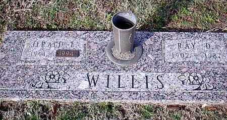 WILLIS, JERALD E - Bowie County, Texas | JERALD E WILLIS - Texas Gravestone Photos