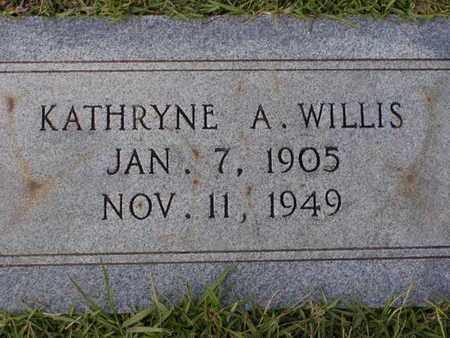 WILLIS, KATHRYNE A - Bowie County, Texas   KATHRYNE A WILLIS - Texas Gravestone Photos