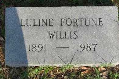 WILLIS, LULINE - Bowie County, Texas | LULINE WILLIS - Texas Gravestone Photos