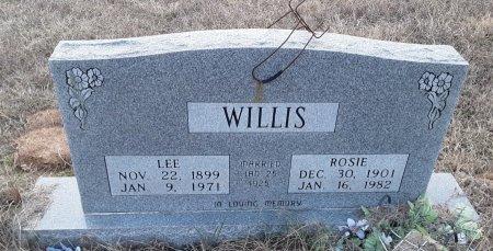 WILLIS, ROSIE - Bowie County, Texas | ROSIE WILLIS - Texas Gravestone Photos