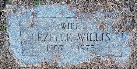 WILLIS, LEZELLE - Bowie County, Texas | LEZELLE WILLIS - Texas Gravestone Photos