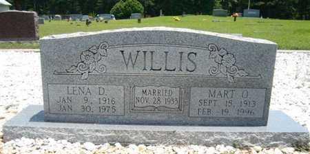 WILLIS, LENA DELL - Bowie County, Texas | LENA DELL WILLIS - Texas Gravestone Photos