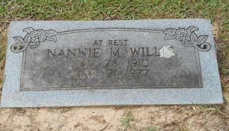 WILLIS, NANNIE M. - Bowie County, Texas | NANNIE M. WILLIS - Texas Gravestone Photos