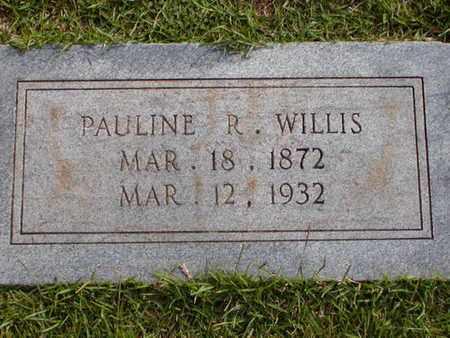 WILLIS, PAULINE R - Bowie County, Texas   PAULINE R WILLIS - Texas Gravestone Photos