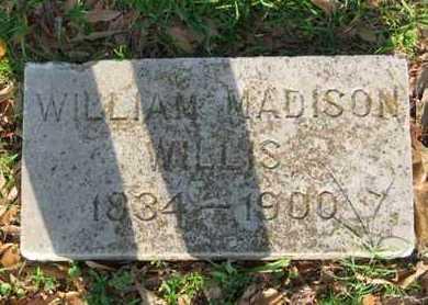 WILLIS, WILLIAM MADISON - Bowie County, Texas   WILLIAM MADISON WILLIS - Texas Gravestone Photos
