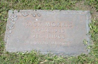 MORRIS, JACK - Brazoria County, Texas   JACK MORRIS - Texas Gravestone Photos