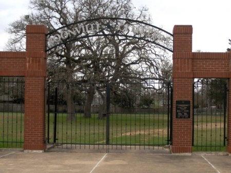 *CEMETERY ENTRANCE,  - Brazos County, Texas |  *CEMETERY ENTRANCE - Texas Gravestone Photos