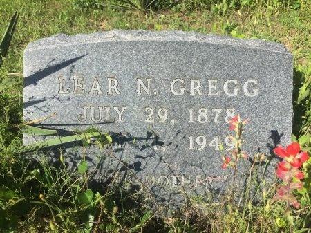 GREGG, LEAR N. - Brazos County, Texas | LEAR N. GREGG - Texas Gravestone Photos