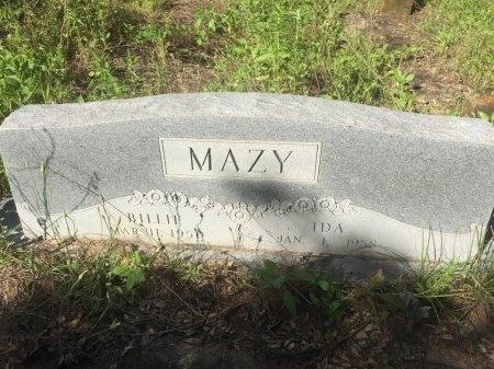 MAZY, BILLIE - Brazos County, Texas | BILLIE MAZY - Texas Gravestone Photos