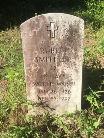 SMITH, JR. (VETERAN WWII), RUBEN - Brazos County, Texas | RUBEN SMITH, JR. (VETERAN WWII) - Texas Gravestone Photos
